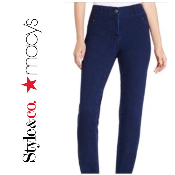 Style & Co Denim - Style & Co. Galaxy Wash Jeggings